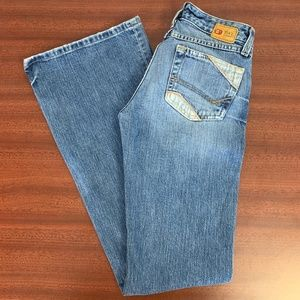 BKE Star 100% Cotton Factory Distressed